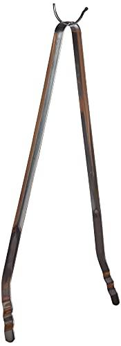 Fackelmann Grillzange BBQ, hochwertige Küchenzange aus Edelstahl, klassische Grillpinzette für kinderleichtes Grillen, Menge: 1 Stück, Farbe: silber
