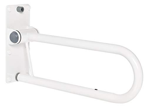 RIDDER WC-Aufstehbügel Tim, klappbar weiß 555 mm