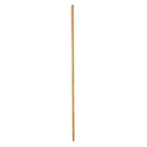 Rubbermaid Commercial Sanded Wood Handle with TapeRed Tip, 60-Inch Length, Natural (FG636200NAT)