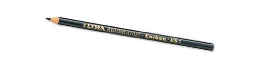 LYRA Rembrandt Carbon Pencil, 308/3, Medium HB, Black, 1 Pencil (2035003)