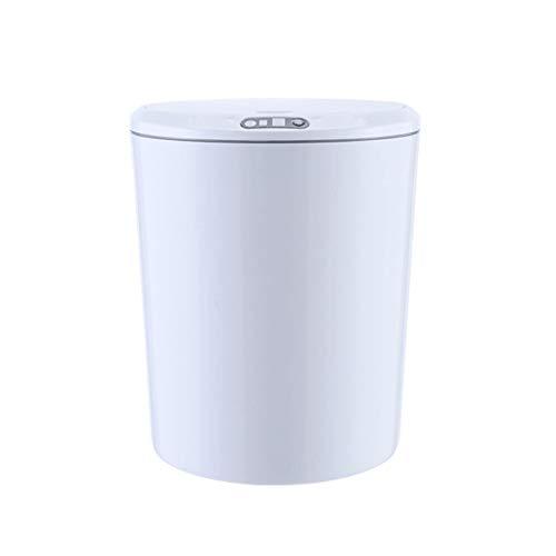 DEF El Sensor Inteligente Bote de Basura, residuos Mini Basket Cubos de Basura for tocador de baño mostrador o Mesa-Coche Cuba de Almacenamiento de la batería 2xAAA Contenedor de Basura Papelera