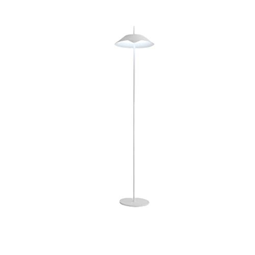 Lámpara De Pie Creativa 58' Nordic creativo Lámpara Tipo de parasol tipo enchufable con el interruptor de botón del metal simple lámpara estándar del hotel Hoteles Sala Decoración Luz De Piso