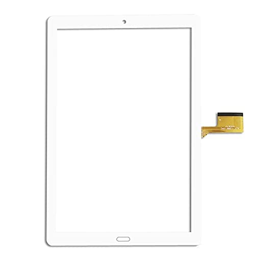 WANGYAN1886 Sostituzione Touch Screen per 10.1    Pollici YESTEL 10.1 YESTEL X2 X2-2 Mid Table TABLETTORE Capacity Touch Screen Digitizer Panel Sostituzione del Pannello (Color : White)