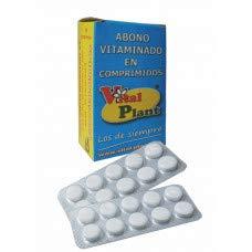 Vitalplant Vital Plant Fertilizante Vitaminado en Comprimidos, Ninguno