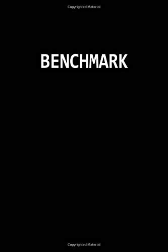 Benchmark: Blank Lined Journal Notebook Diary Meeting Minutes 6x9
