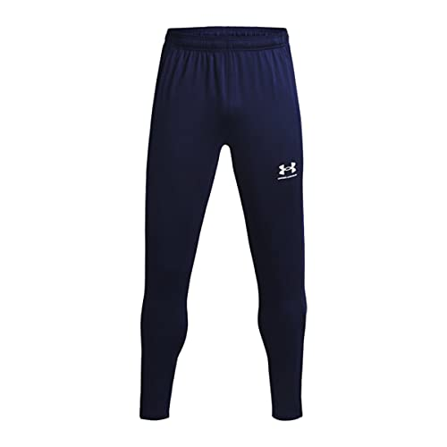 Under Armour Challenger Pantalones, Midnight Navy / / White, S para Hombre