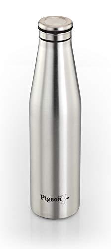 Pigeon Stainless Steel Fridge Water Bottle, 750ml, 1 Piece, Silver