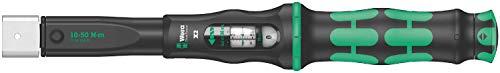 Wera '05075652001 Click-Torque X 2 Drehmomentschlüssel für Einsteckwerkzeuge, 9x12 x 10-50 Nm