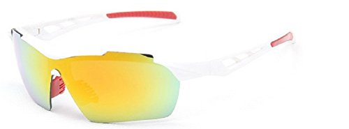 Embryform gafas de sol deportivas, gafas de sol al aire libre para...