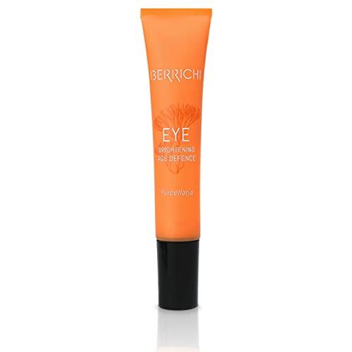 Berrichi Augencreme I Anti-Aging für die Augen I Augenpflege-Creme für trockene Haut mit Astaxanthin & Furcellaran I Aufhellende Augencreme für Sie & Ihn I Natürliche...
