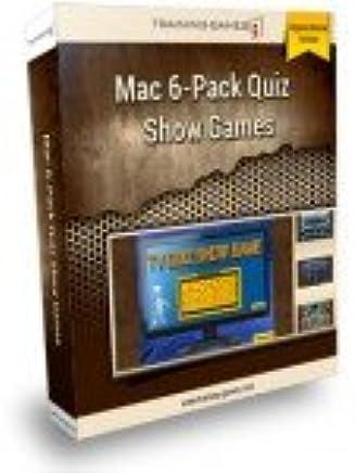 Amazon com: Mac TV Quiz Show 6 Pack for Teaching & Training