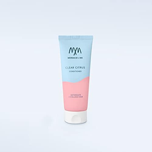 Mermaid + Me Clear Citrus Conditioner (200 ml) – vitalisierende Haarspülung mit Arganöl – Spülung mit ausgleichendem Grapefruitextrakt – frischer Duft
