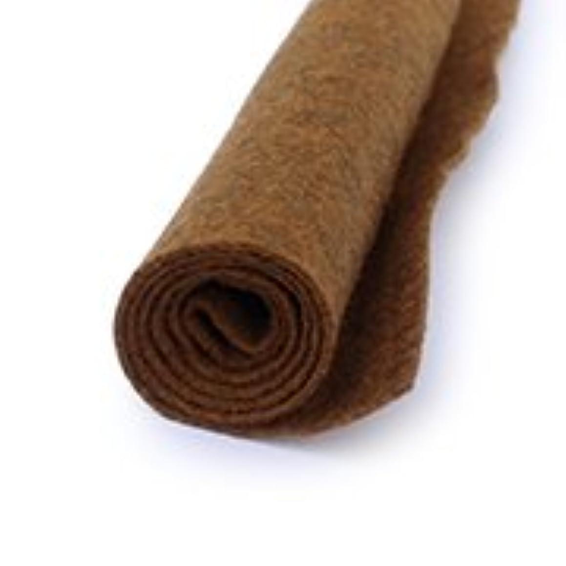 Safari Brown - Wool Felt Oversized Sheet - 35% Wool Blend - 1 12x18 inch sheet
