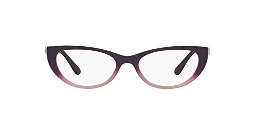 Vogue 0VO5240B Monturas de gafas, Top Dark Violet Grad Opal Pink, 51 para Mujer