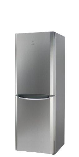 Indesit BIAAA 12P X Kühl-Gefrier-Kombination/A++ / 175.0 cm Höhe / 205 kWh/Jahr / 182 L Kühlteil / 90Liter Gefrierteil/nur 0,562 kWh/24 Std. / Kühlen 182 L/Gefrieren 90 L/edelstahl-Front