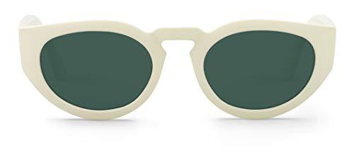 Mr Boho PSIRI Montures de lunettes, Ecru (Cream/Classical Lenses), 48 Mixte Adulte