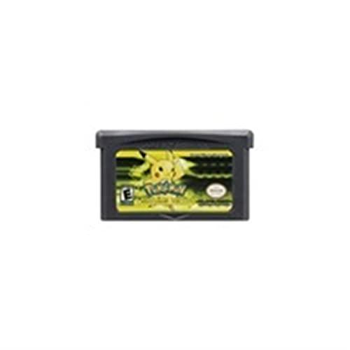 UJETML Cartucho de Videojuegos de 32 bits Tarjeta de Consola para Nintendo GBA Pokebon Lightng Amarillo My Ass Outlaw Pearl Gold Ultraviolet English