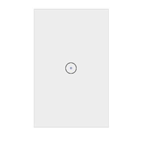 Jinvoo Smart US WIFI Touch Switch, telecomando senza fili, interruttore per tapparelle controller, compatibile con iOS/Android, funziona con Alexa Echo e Google Assistant