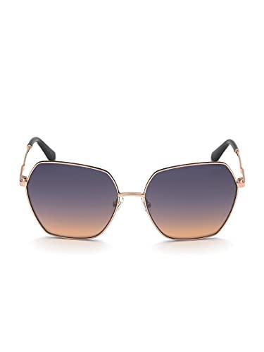 Guess Gafas de sol para mujer, GU7785, color 28Z, calibre 63-17-140
