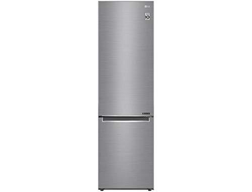 Réfrigérateur combiné inox LG GBB62PZJZN - Réfrigérateur congélateur bas 384 litres - Frigo...