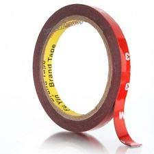 3M Ruban adhésif double face 4229P, haute performance, ruban adhésif de montage, 8mmx5m, livré dans un sachet refermable