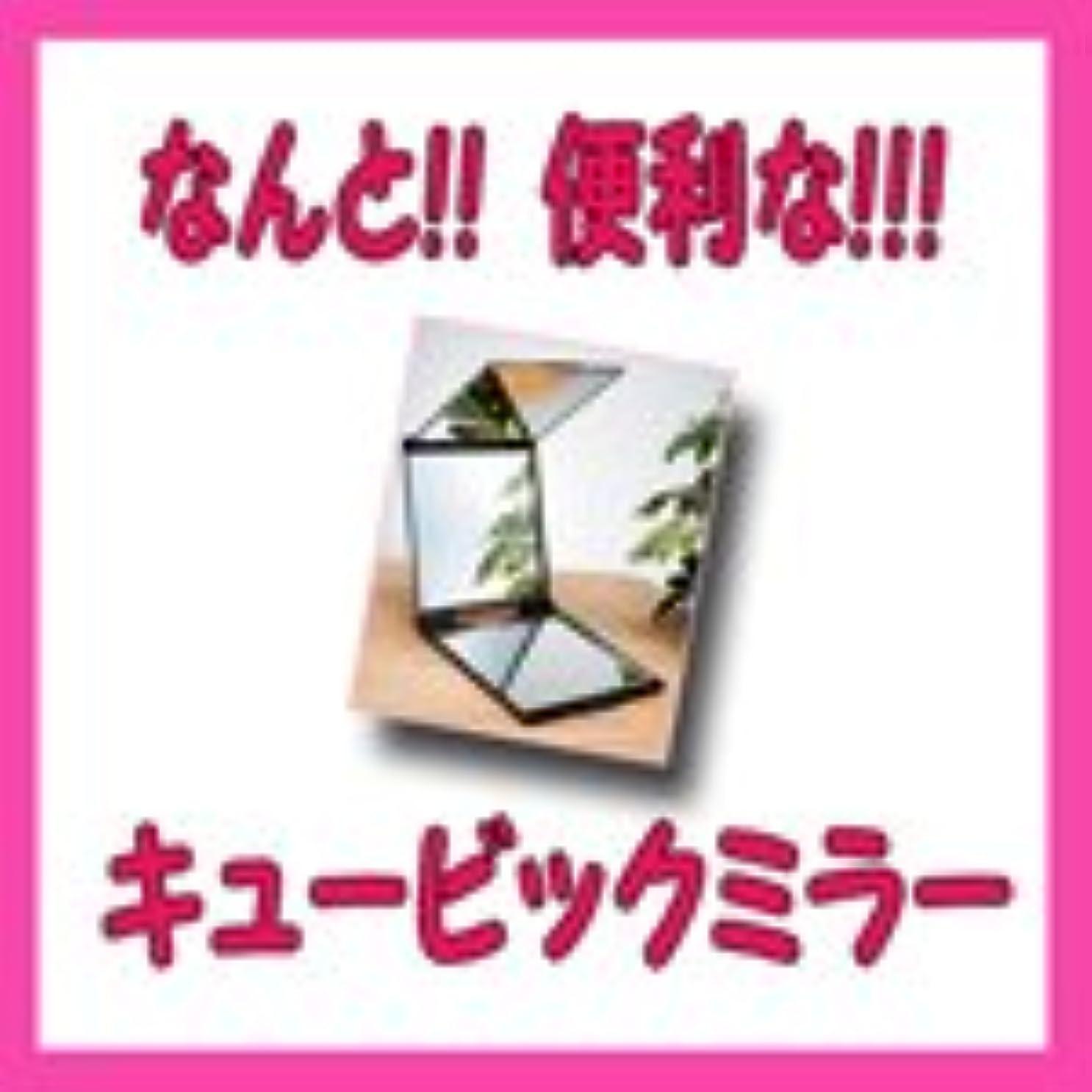 群れ充実研磨ルアン ルアン キュービックミラー 立体三面鏡