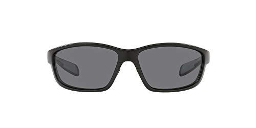 Native Eyewear Kodiak Polarized Sunglasses, Matte Black/Gray, 60 mm