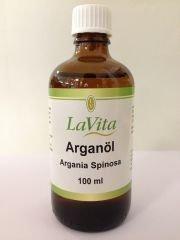 LaVita Arganöl 100 ml Bio kaltgepresst in Glasflasche kba