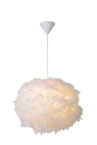 Lucide GOOSY SOFT - Pendelleuchten - Ø 50 cm - 1xE27 - Weiß