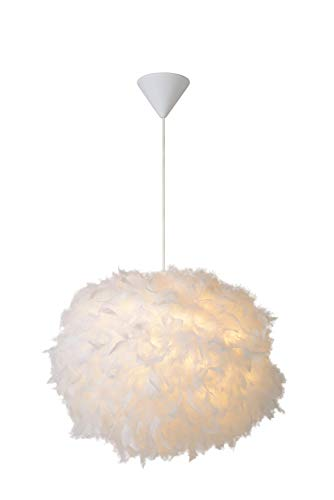 Lucide GOOSY SOFT - Suspension - Ø 50 cm - Blanc