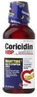 Coricidin HBP Nighttime Multi-Symptom Cold Cherry -- 12 fl oz