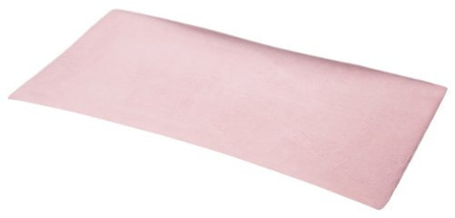 NoJo 2 Pack Coral Fleece Changing Table Cover - Pink
