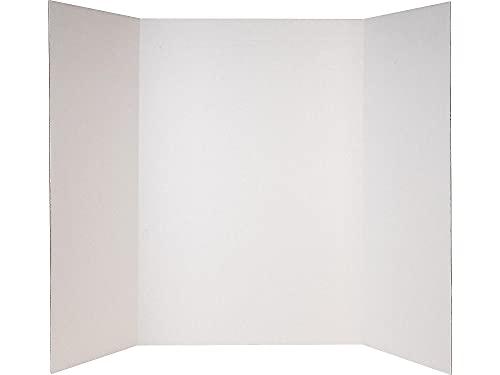 Elmer's 302919 Double Ply Corrugated Presentation Board 4' x 3' White (730190)