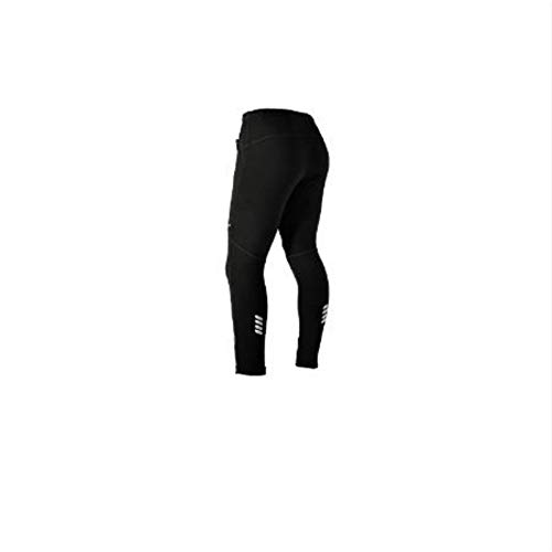 Berrd Herbst- und Winter-Radhose, Winddichte, warme und warme Sporthose, Herren-Stretch-Taillen-Radhose, schwarz
