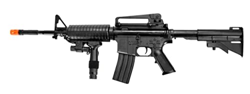 UK ARMS P1158CA Spring Airsoft Rifle M4A1 Carbine...
