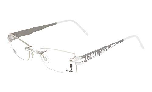 switch it Garnitur Combi 3220 Wechselbügel Montur aus Titanium in der Farbe silber-weiß, innen palladium-matt
