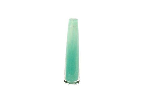 Dutz schmale/schlanke Glasvase SOLIFLEUR D5,5 H21 Jade/türkis Glas Vase h.