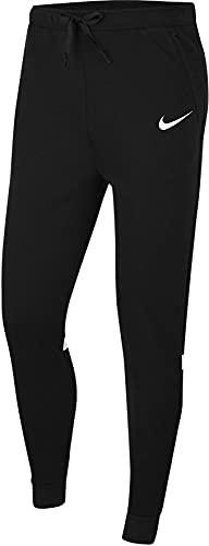 NIKE Strike 21 Fleece Pants Pantaln de Vestir, Negro y Blanco, XL para Hombre
