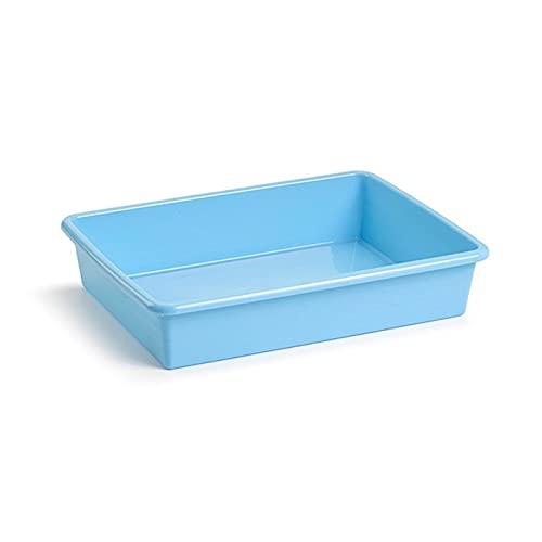 Plastic Forte - Bandeja rectangular para frigorífico, color aleatorio, capacidad 3 litros, 6,5 x 30,5 x 23 cm.