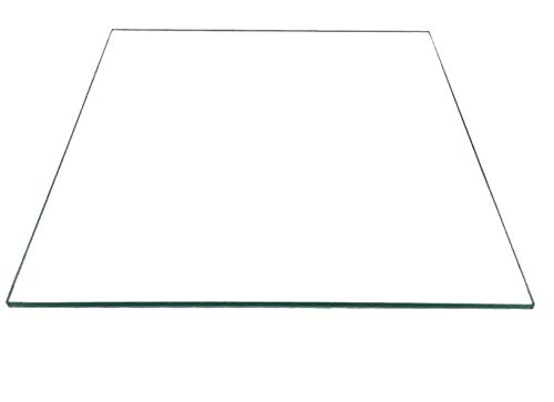 Liupin Store 3D Printers Parts Fit For Reprap MK2 Heated Bed Borosilicate Glass Plate Size 213 * 200 * 3mm Tempered Part Accessories Toughened Easy to install