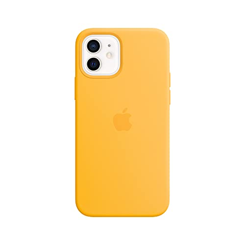 Apple Funda de Silicona con MagSafe (para el iPhone12 y iPhone12Pro) - Girasol