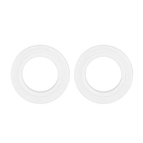 【2021 Promoción de año nuevo】Rodamiento ZrO2, Jarchii 6802-2RS Rodamiento de cerámica completo, 15x24x5mm ZrO2 Rodamiento de bolas miniatura de cerámica completa de una fila para bombas Instrumento óp