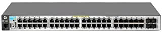HP 2530-48G-PoE+ Switch 2530-48G-POE+ SWITCH 48 Ports - Manageable - 48 x POE+ - 4 x Expansion Slots - 10/100/1000Base-T - PoE Ports - Rack-mountable, Desktop, Wall Mountable