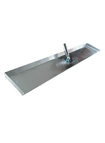 Alu-Betonschieber 300 x 630 mm Beton schieber Gelenk-Stielhalterung