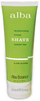Shave Cream discount Coconut Lime Botanica 8oz Alba from Clearance SALE Limited time