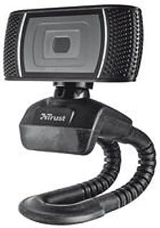 Trust Trino - Webcam (Micrófono Incorporado), Negro