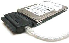 USB 2.0 auf IDE Adapter Converter für alle Formate inkl. Netzteil