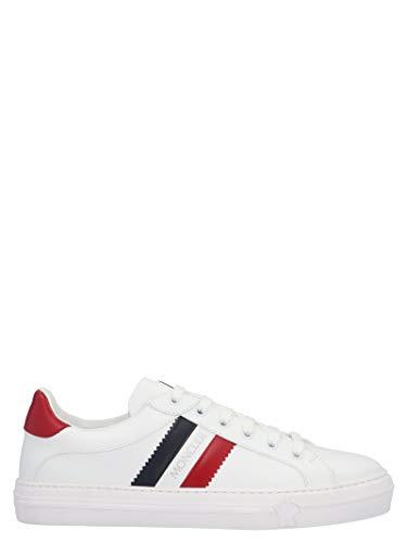 Moncler Luxury Fashion Damen 4M70440019MT002 Weiss Leder Sneakers | Jahreszeit Permanent