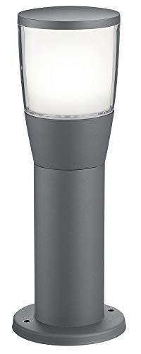 Trio Leuchten LED Pfostenleuchte 522060142 Shannon, Aluminium anthrazit, Kunststoff weiß, 7 Watt LED