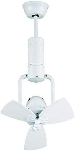 Sulion Ventilador de Esquina Motor DC, Metal/Plywood, Blanco, 38x74-64